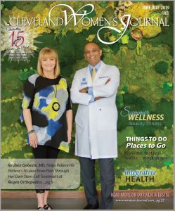 Dr. Gobezie and Laura Milano stem cell treatment for knee pain